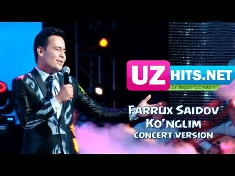 Farrux Saidov - Ko'nglim (concert version)