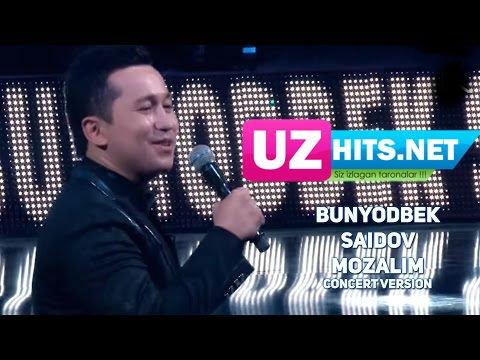 Bunyodbek Saidov - Mozalim (remix concert version) (HD Clip)