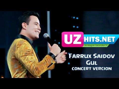 Farrux Saidov - Gul (concert version) (HD Clip)