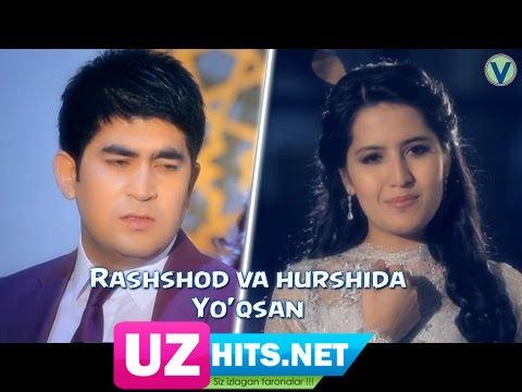 Rashshod Azamov va Hurshida Jo'rayeva - Yo'qsan (HD Clip)