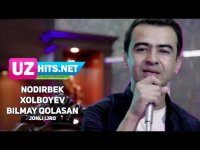 Nodirbek Xolboyev - Bilmay qolasan (jonli ijro) (Klip HD) (2017)