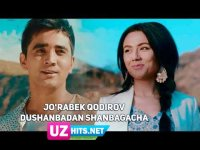 Jo'rabek Qodirov - Dushanbadan shanbagacha (Klip HD)