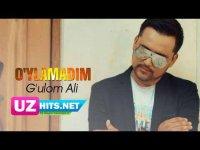 G'ulom Ali - O'ylamadim (Klip HD)