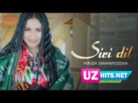 Feruza Jumaniyozova - Siri dil (Klip HD)